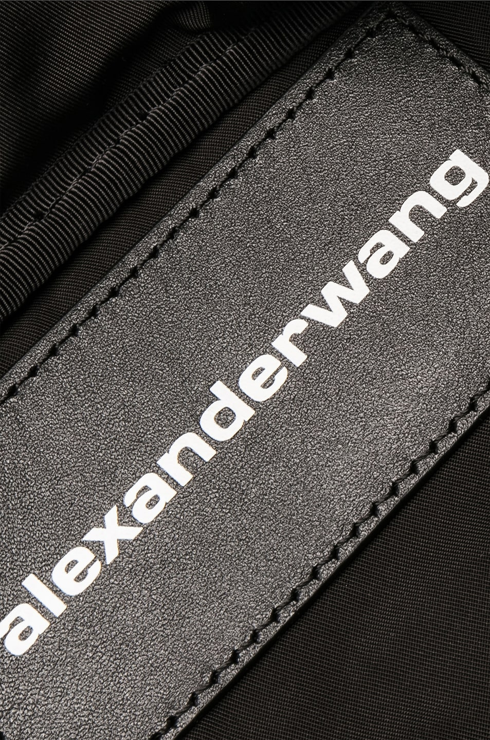 Image 5 of Alexander Wang Jacquard Logo Attica Fanny Pack in Black