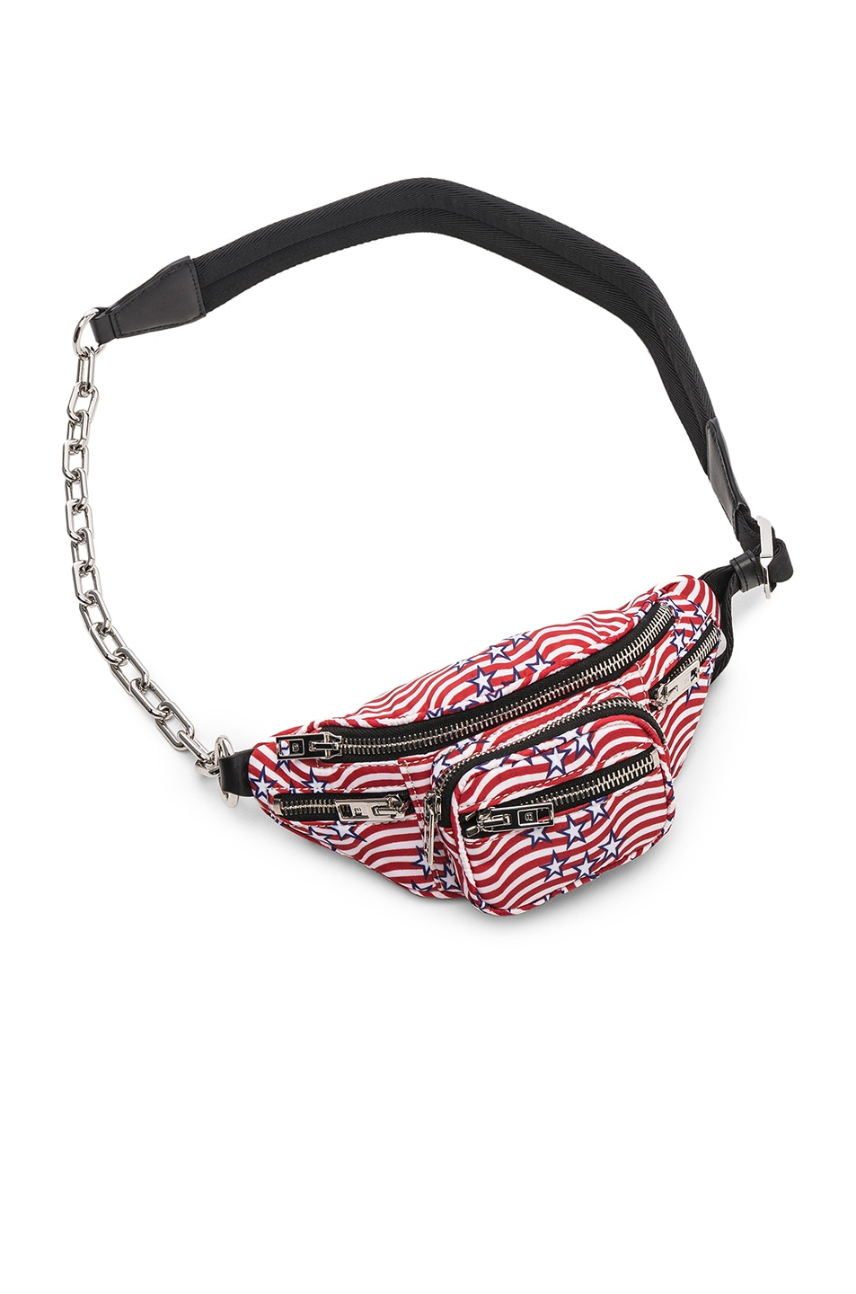 Image 3 of Alexander Wang Attica Stars and Stripes Mini Fanny Pack in Multi