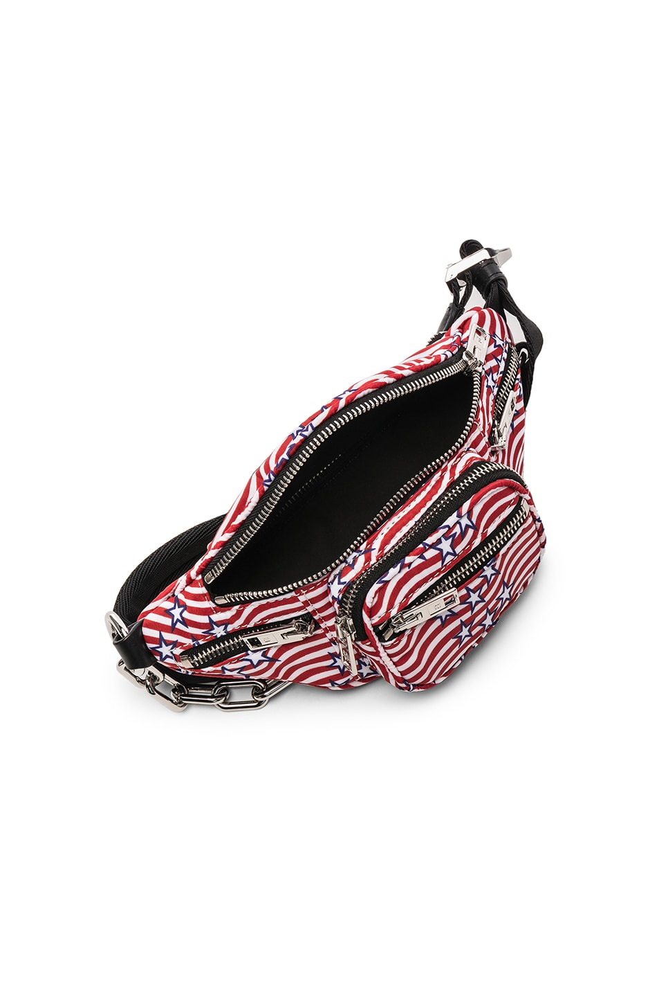 Image 4 of Alexander Wang Attica Stars and Stripes Mini Fanny Pack in Multi