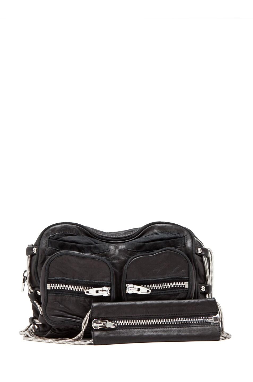 Image 1 of Alexander Wang Brenda Zip Bag in Black