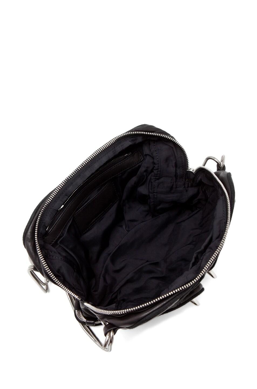 Image 4 of Alexander Wang Brenda Zip Bag in Black