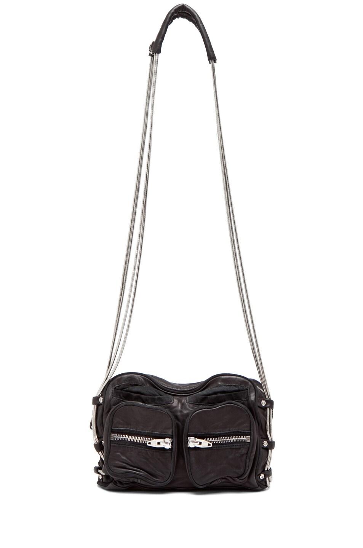 Image 5 of Alexander Wang Brenda Zip Bag in Black