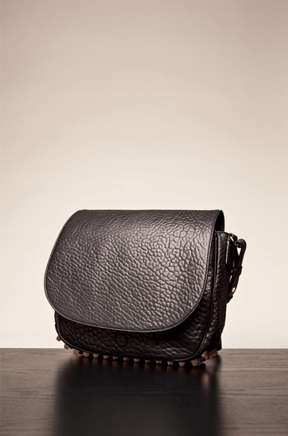Image 1 of Alexander Wang Lia Sling in Black/Rose Gold