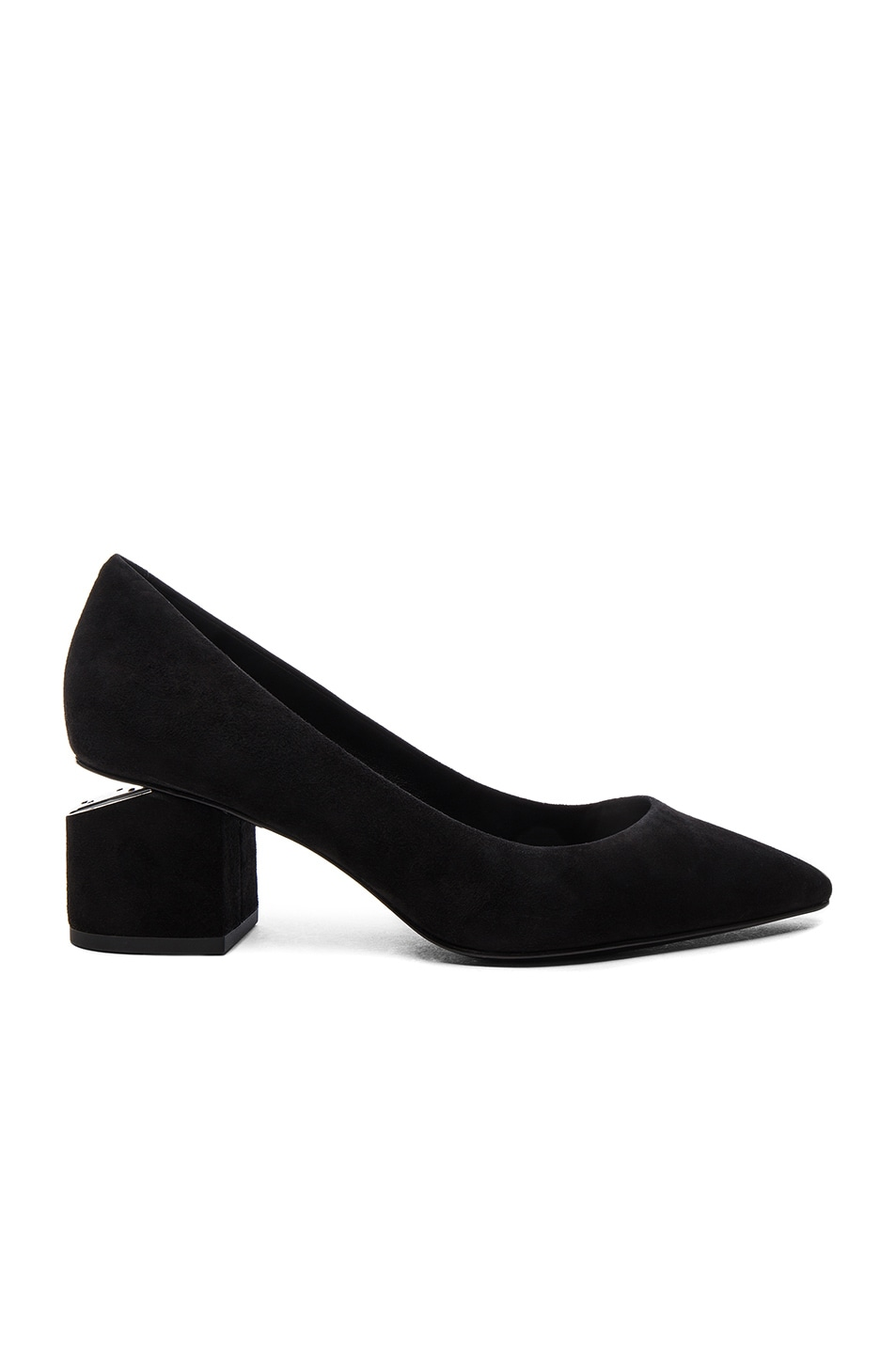 Image 1 of Alexander Wang Suede Simona Pumps in Black