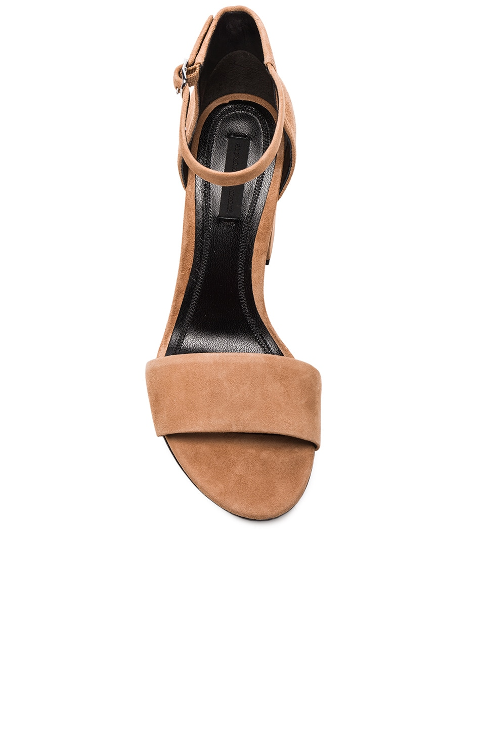 Image 4 of Alexander Wang Abby Suede Heels in Clay