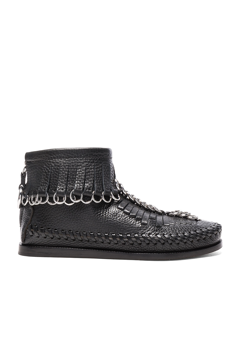 Image 1 of Alexander Wang Leather Montana Boots in Black