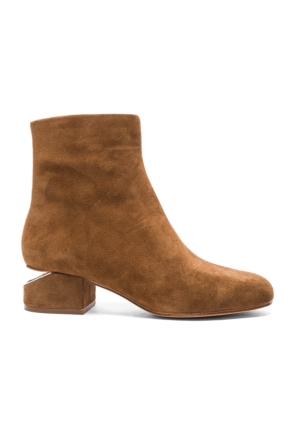 Image 1 of Alexander Wang Suede Kelly Boots in Dark Truffle