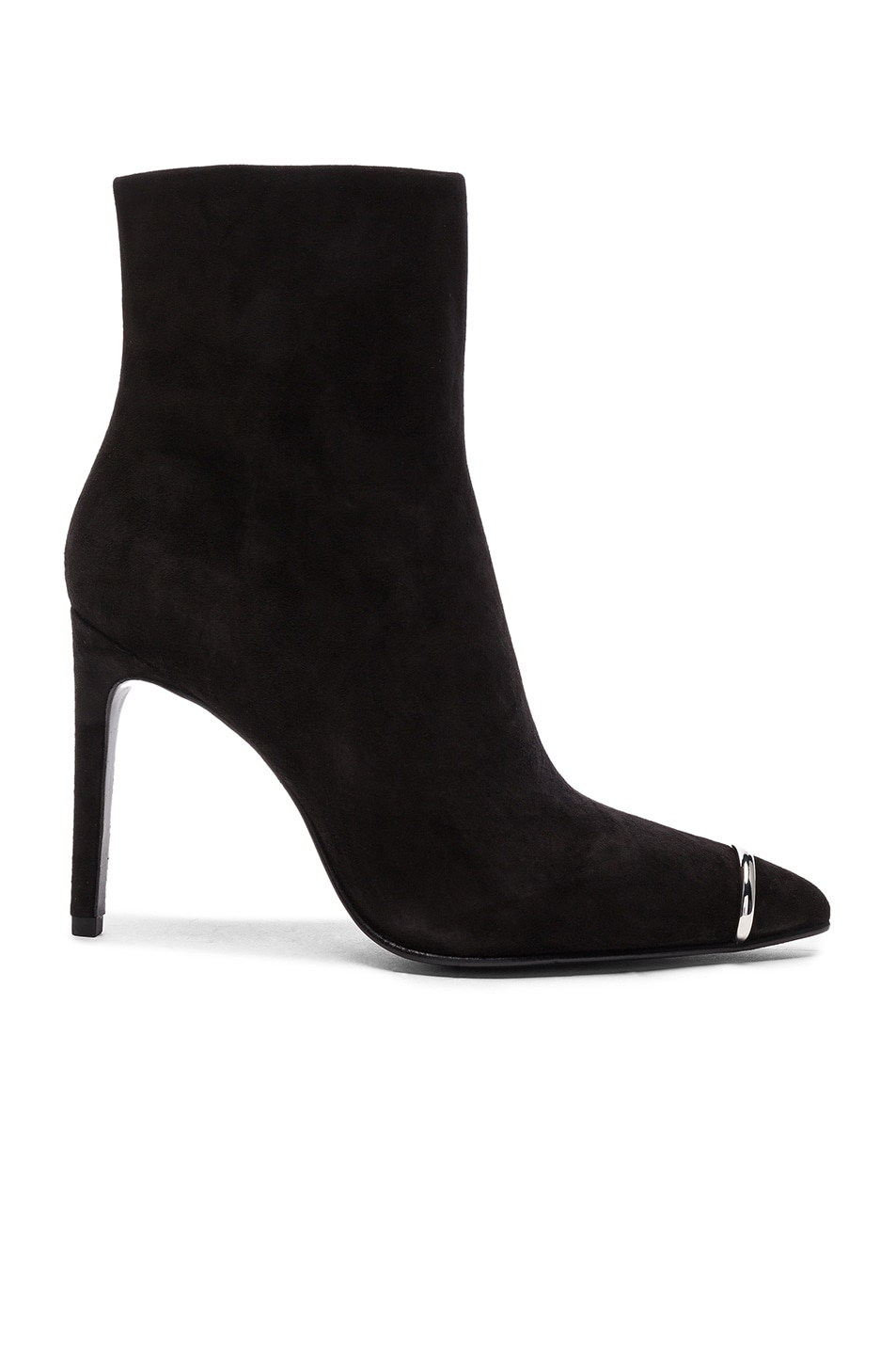 Image 1 of Alexander Wang Suede Kinga Boots in Black Suede