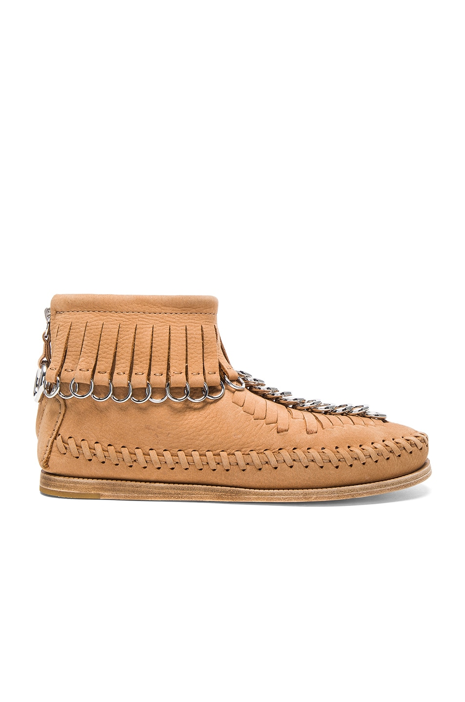 Image 1 of Alexander Wang Leather Montana Booties in Clay