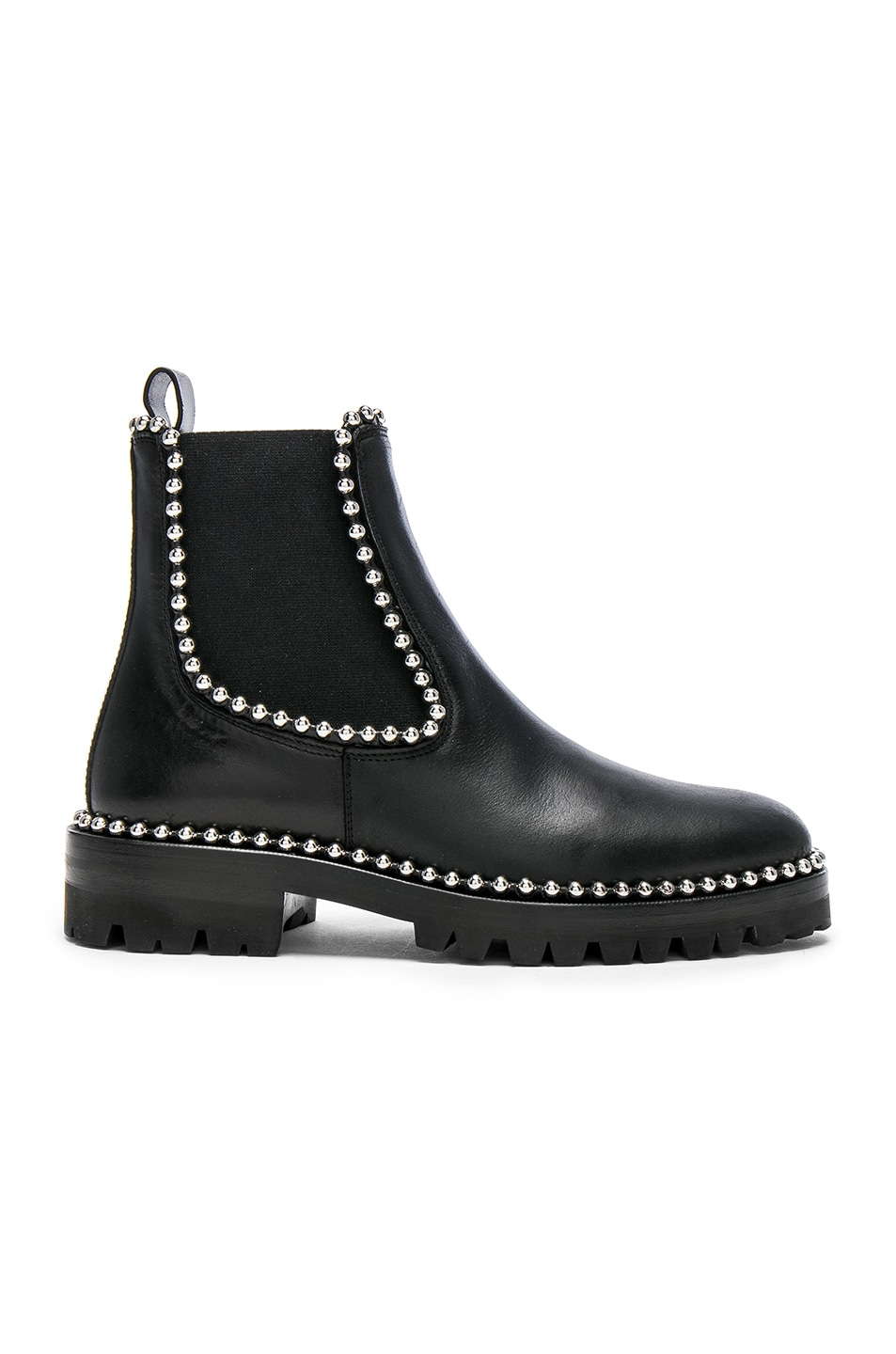 Image 1 of Alexander Wang Spencer Leather Boots in Black