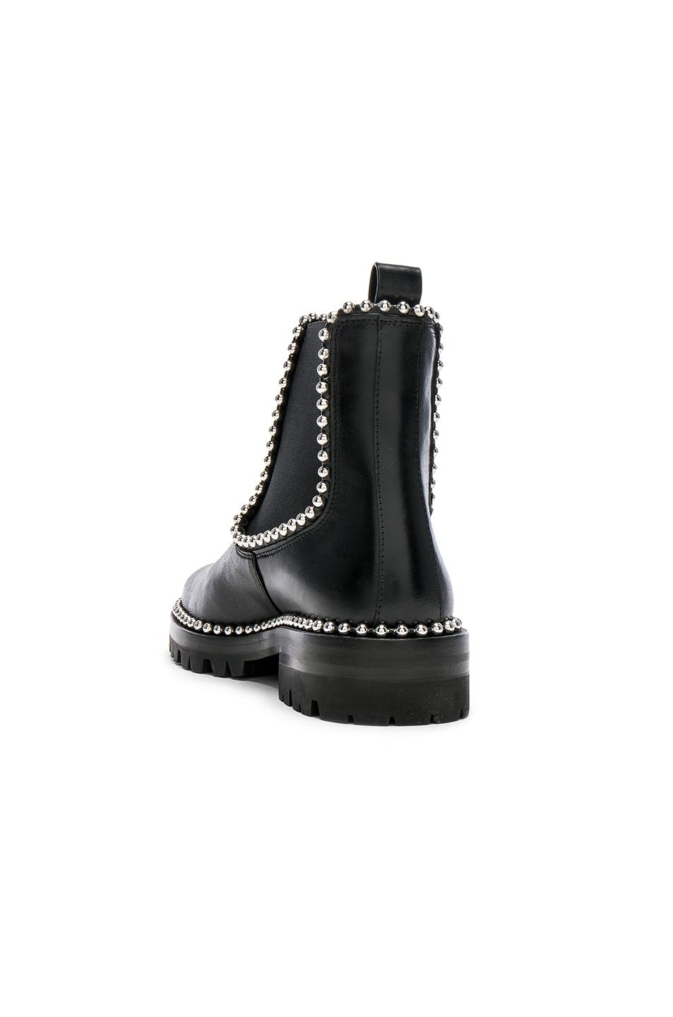 Image 3 of Alexander Wang Spencer Leather Boots in Black