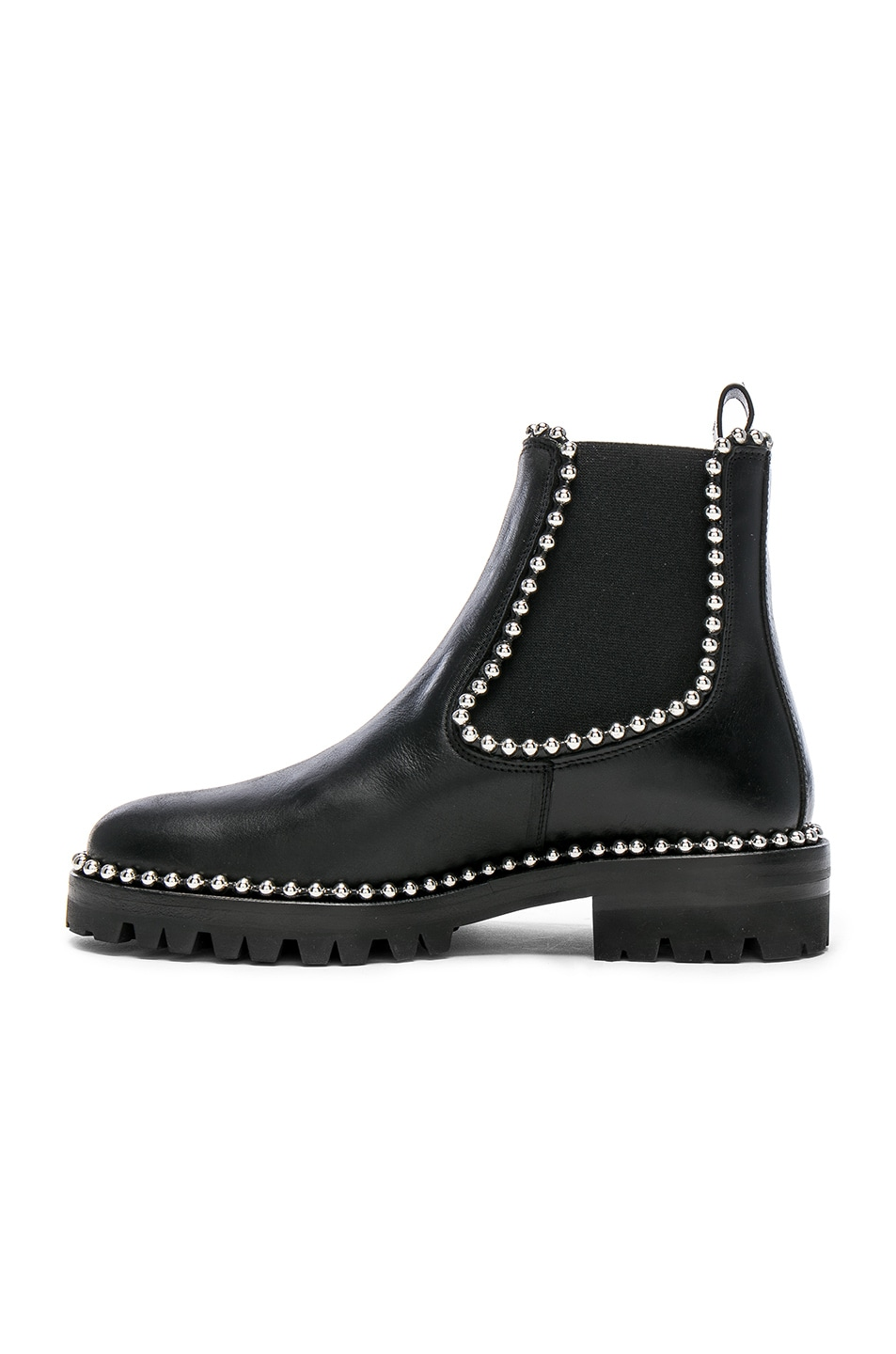 Image 5 of Alexander Wang Spencer Leather Boots in Black