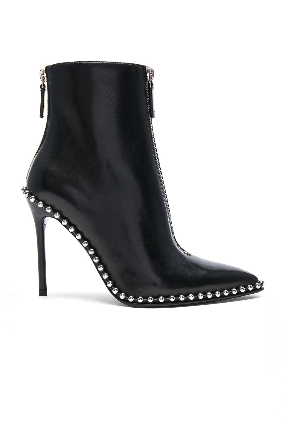 Image 1 of Alexander Wang Leather Eri Boots in Black
