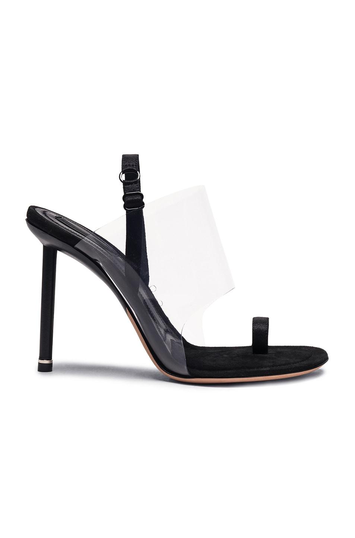 Image 1 of Alexander Wang PVC Kaia Heels in Black
