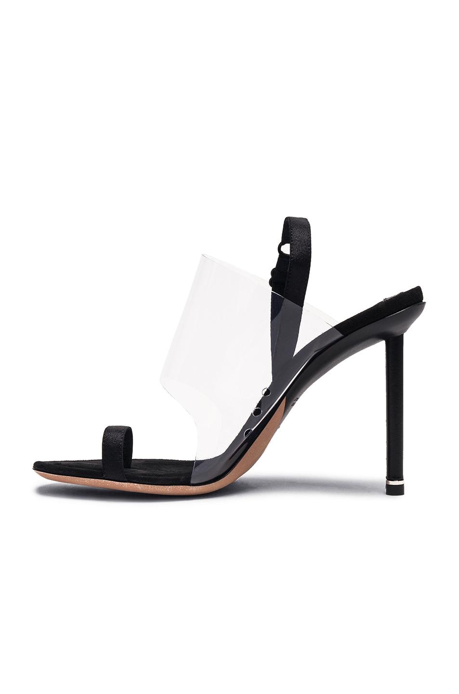 Image 5 of Alexander Wang PVC Kaia Heels in Black