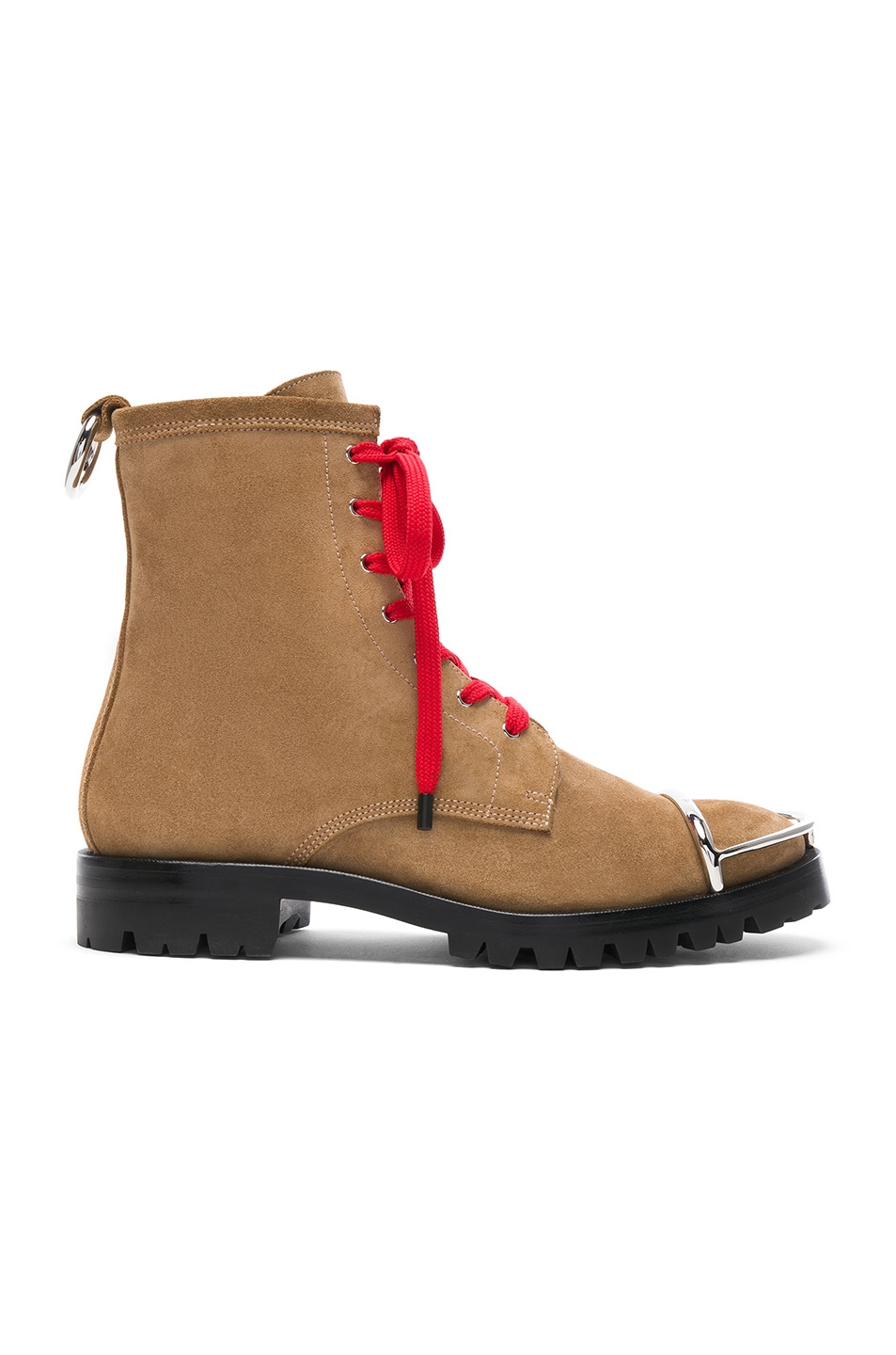 Image 1 of Alexander Wang Lyndon Suede Boot in Clay
