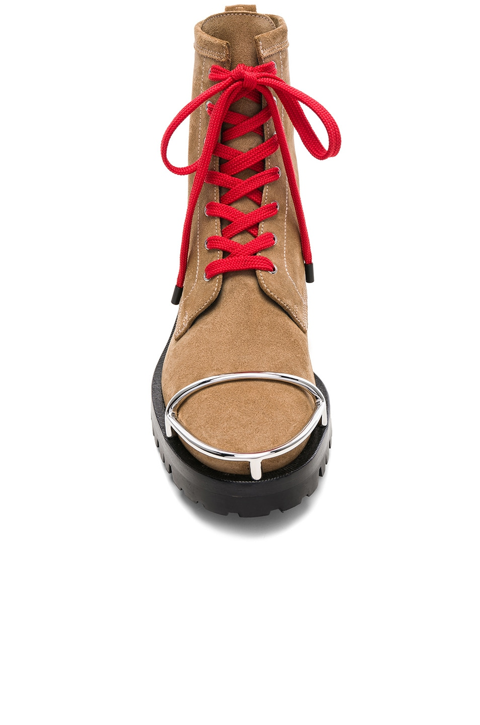 Image 4 of Alexander Wang Lyndon Suede Boot in Clay