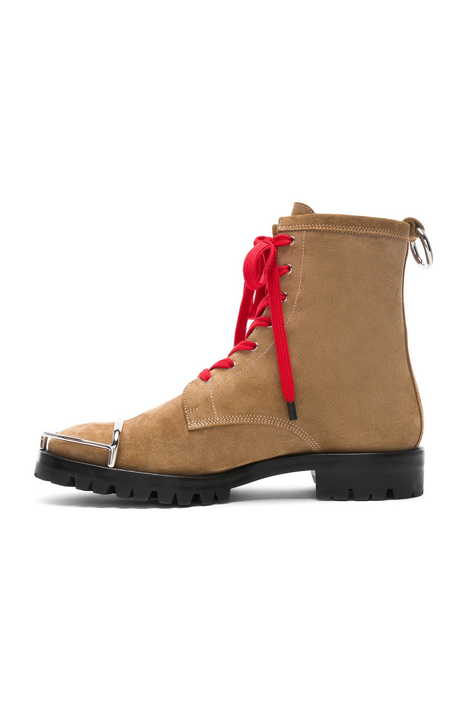 Image 5 of Alexander Wang Lyndon Suede Boot in Clay