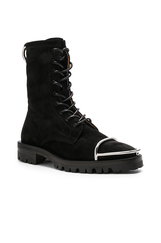 Image 2 of Alexander Wang Kennah Suede Boot in Black
