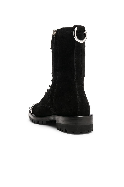 Image 3 of Alexander Wang Kennah Suede Boot in Black