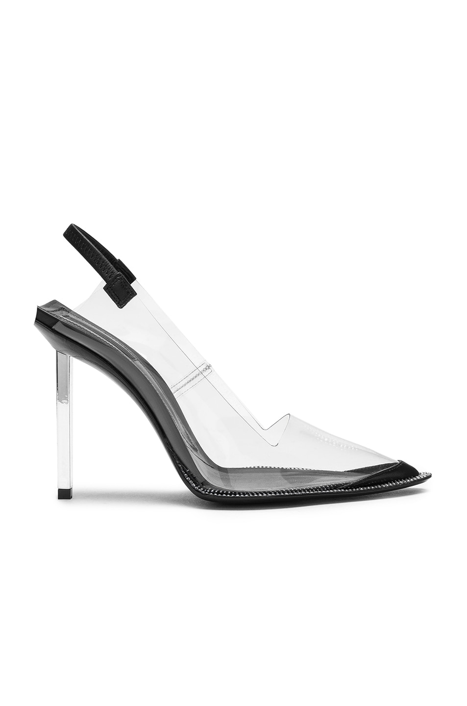 Image 1 of Alexander Wang Marlow Heel in Black