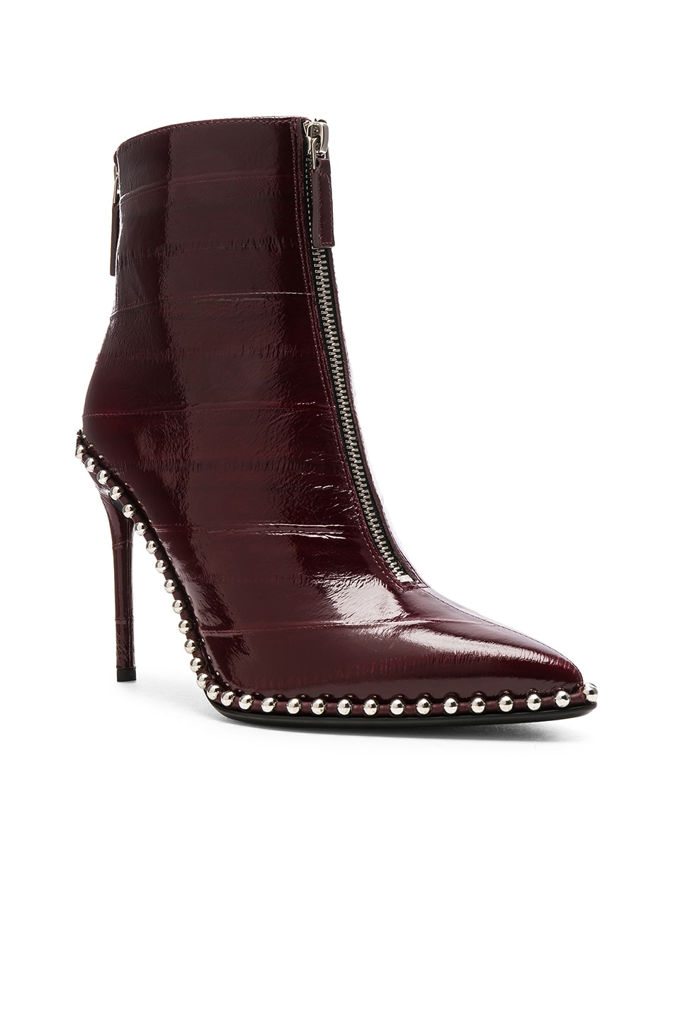 Image 2 of Alexander Wang Eri Patent Boot in Oxblood