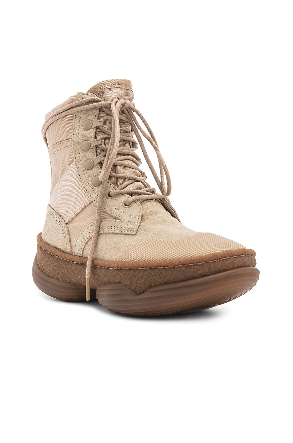 Image 2 of Alexander Wang Suede A1 Combat Boot in Sand
