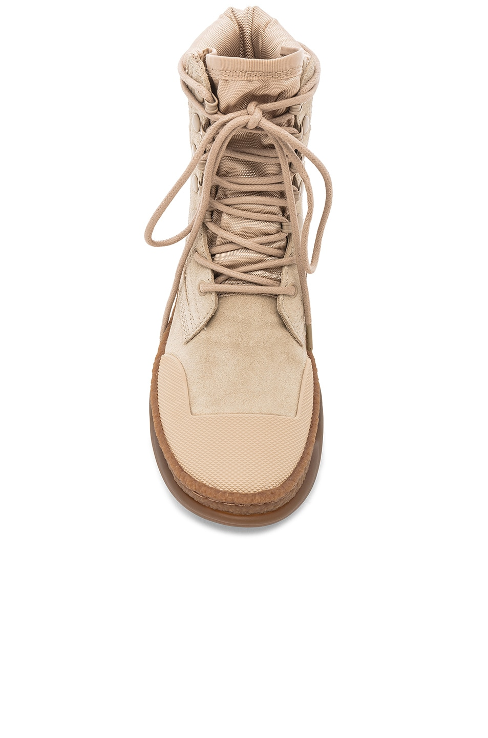 Image 4 of Alexander Wang Suede A1 Combat Boot in Sand