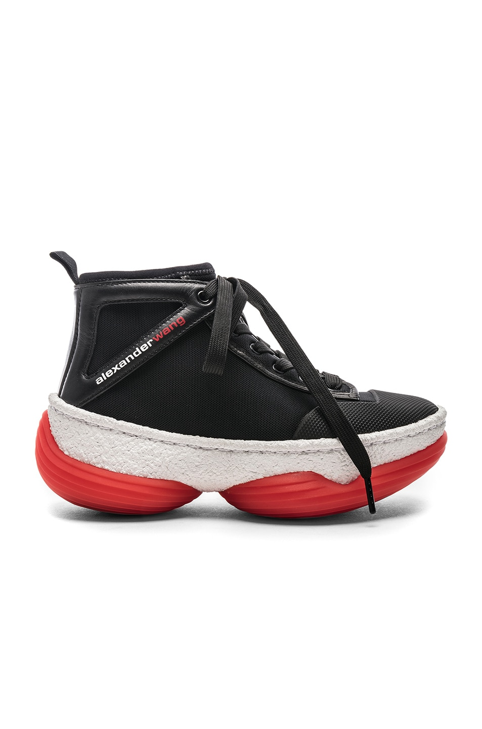 Image 1 of Alexander Wang Mesh Sneaker in Black