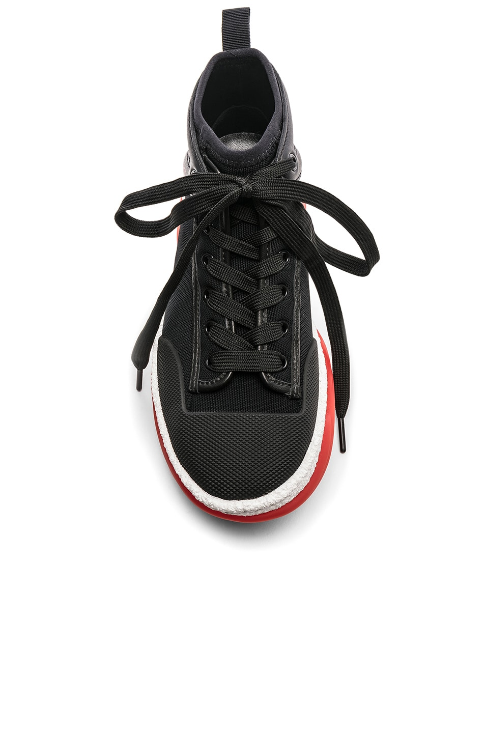 Image 4 of Alexander Wang Mesh Sneaker in Black