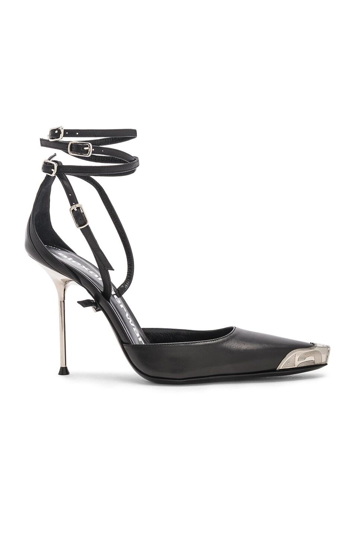 Image 1 of Alexander Wang Selena Calf Heel in Black