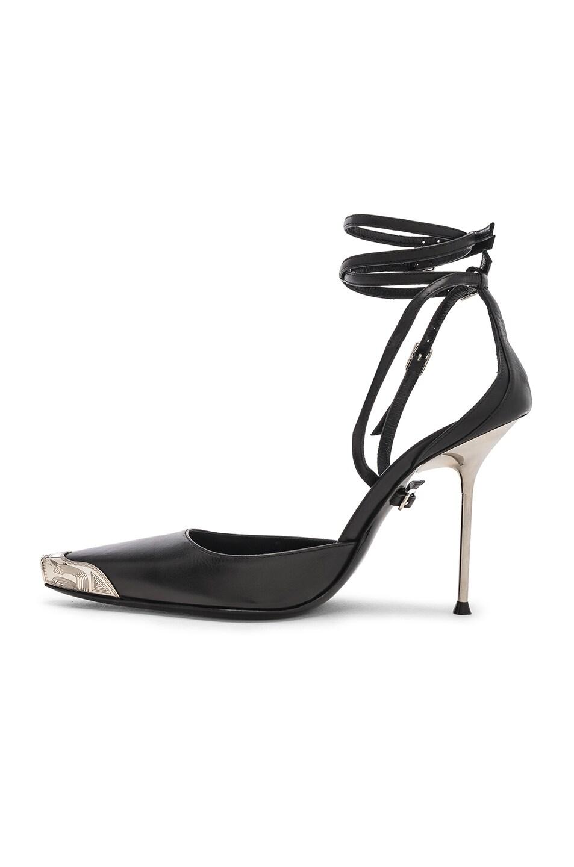 Image 5 of Alexander Wang Selena Calf Heel in Black