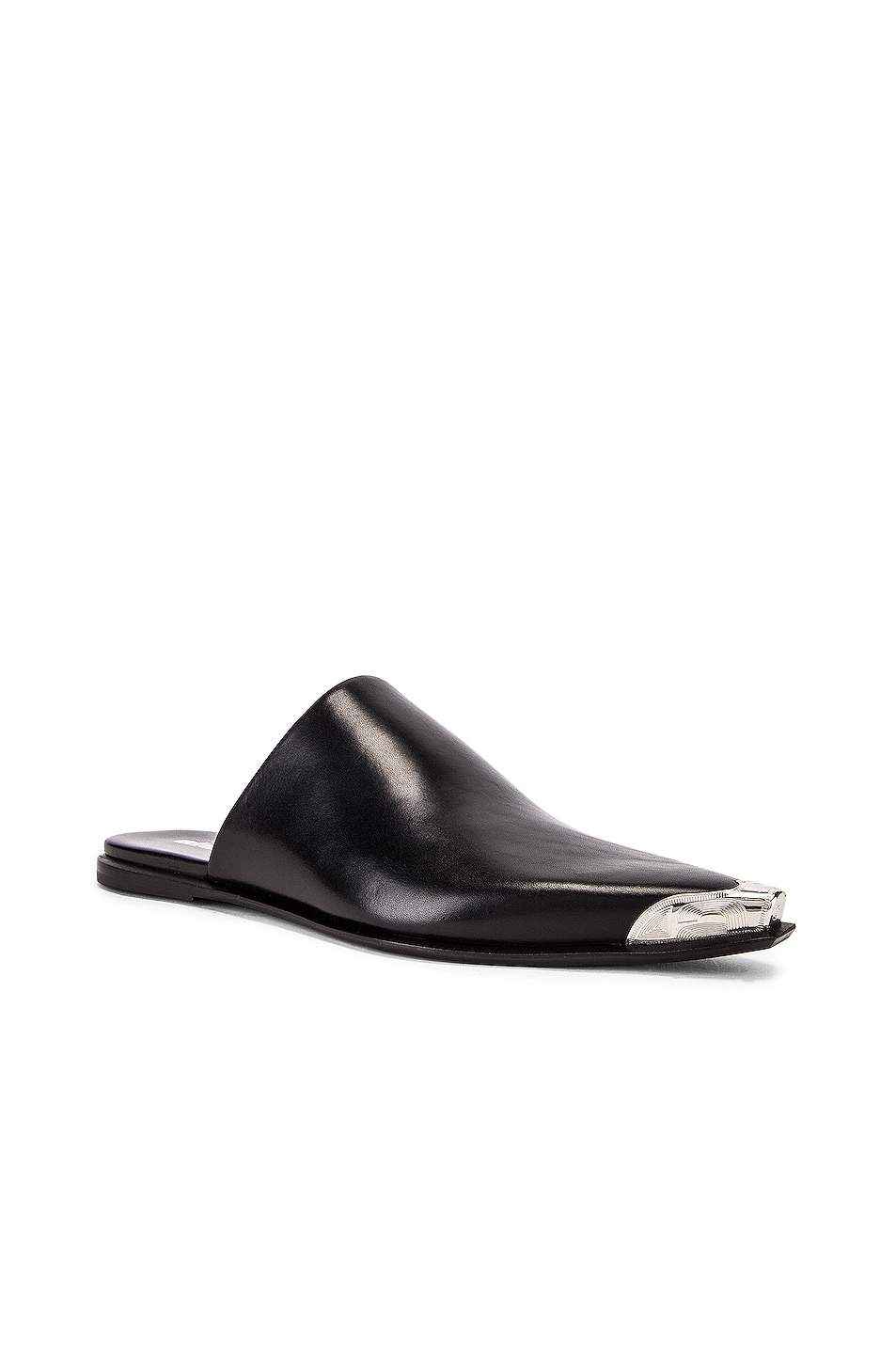Image 2 of Alexander Wang Sullivan Calf Mule in Black