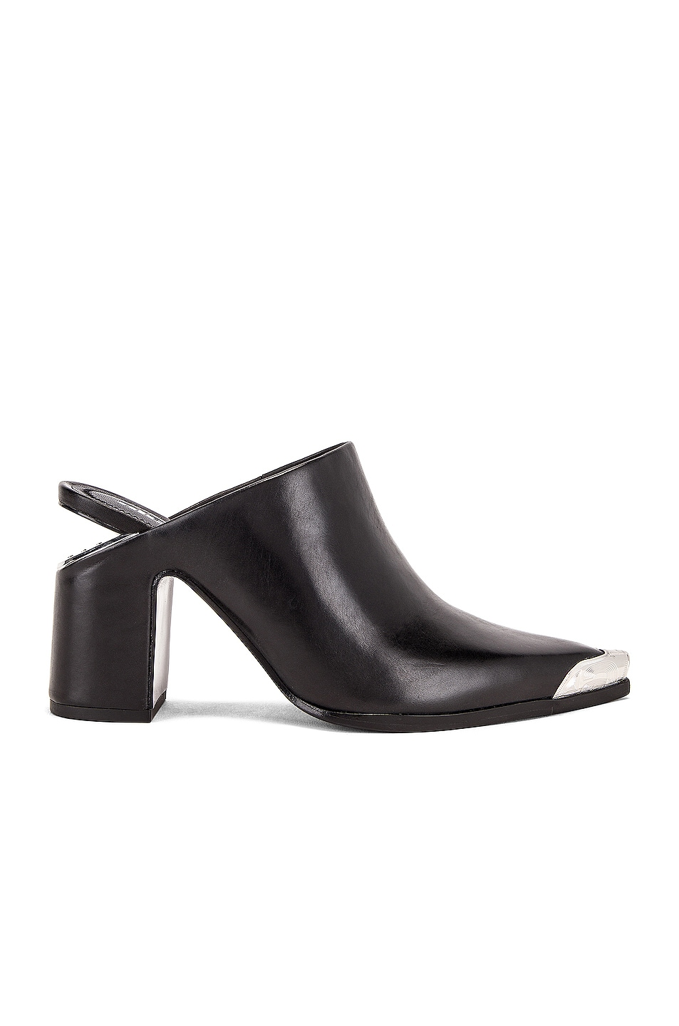 Image 1 of Alexander Wang Su Calf Mule in Black