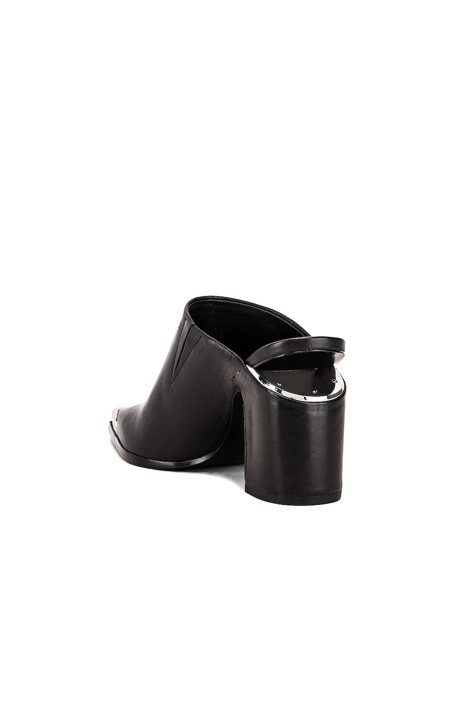Image 3 of Alexander Wang Su Calf Mule in Black