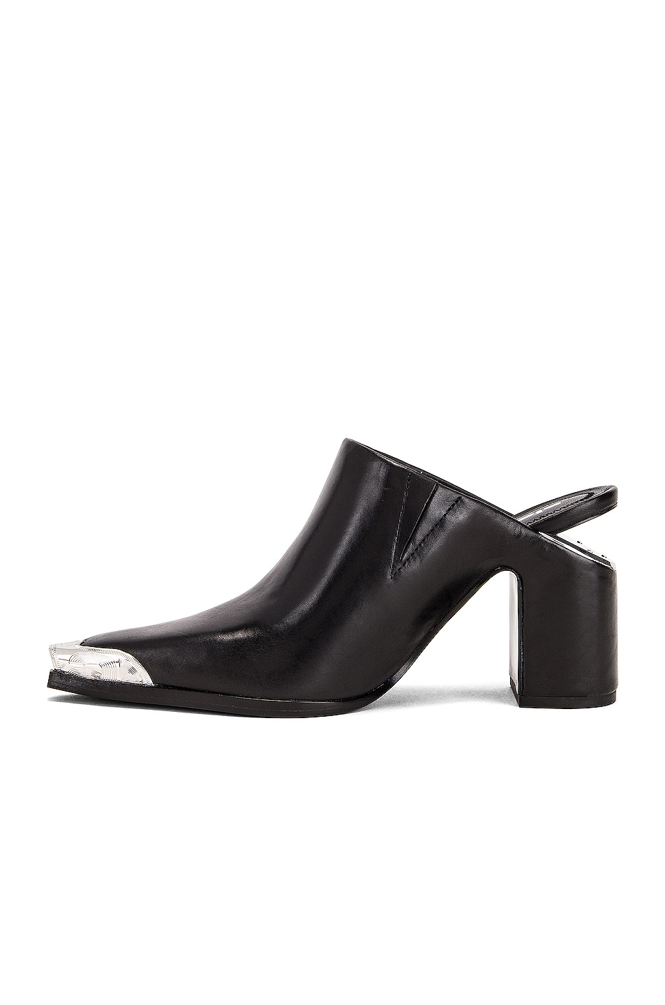Image 5 of Alexander Wang Su Calf Mule in Black