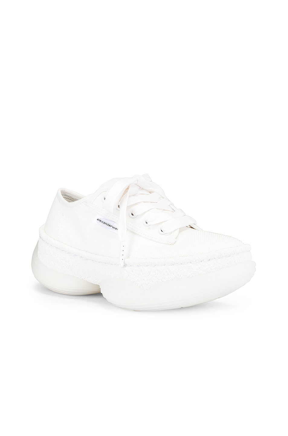 Image 2 of Alexander Wang A1 Low Top Sneaker in White