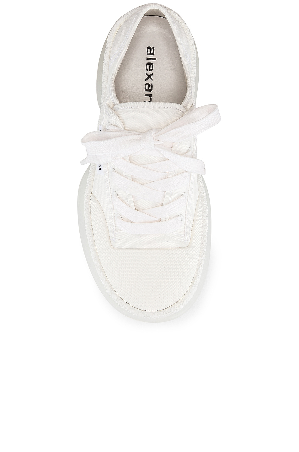 Image 4 of Alexander Wang A1 Low Top Sneaker in White