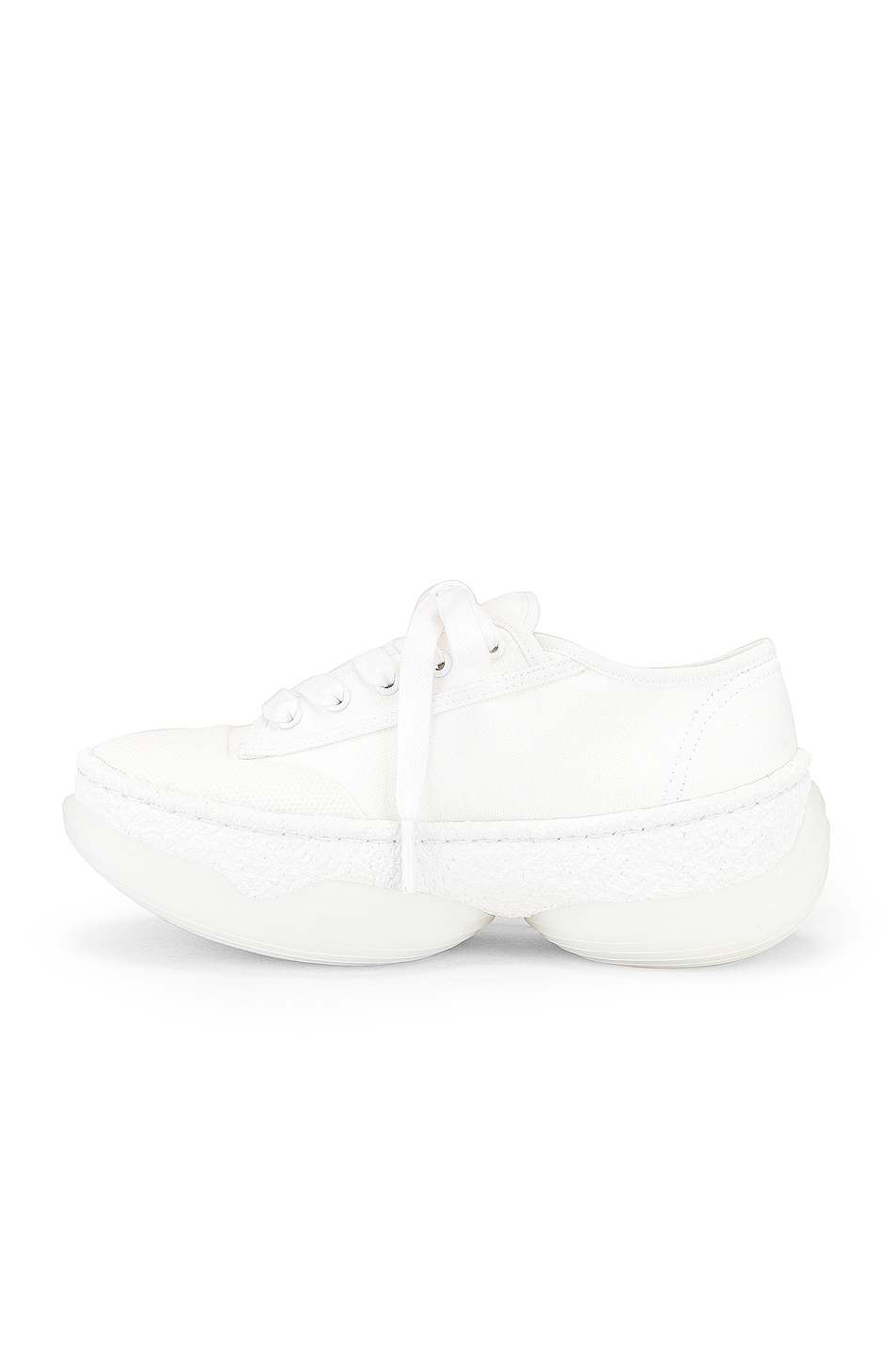 Image 5 of Alexander Wang A1 Low Top Sneaker in White