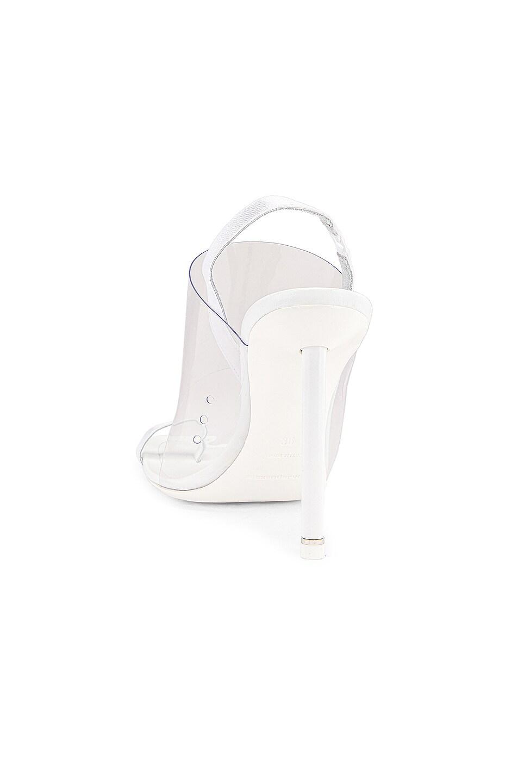 Image 4 of Alexander Wang Kaia PVC Heel in White