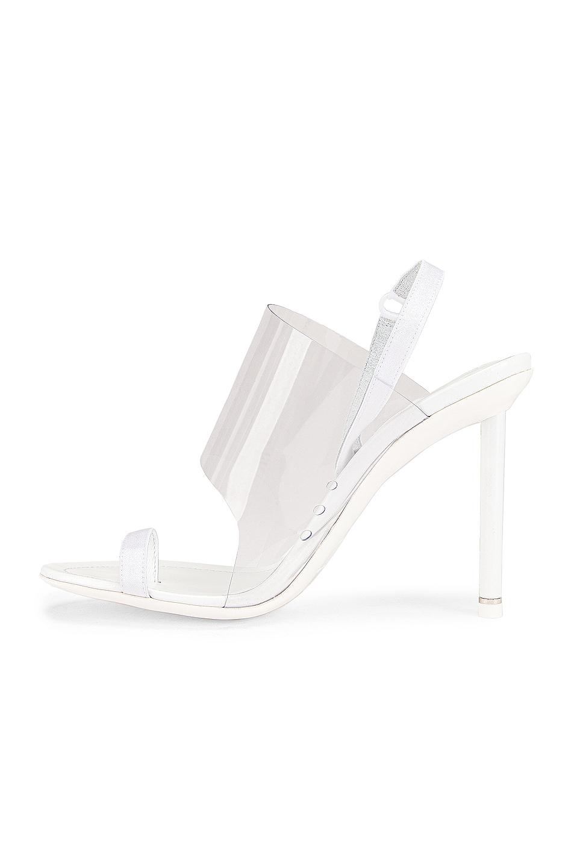 Image 5 of Alexander Wang Kaia PVC Heel in White