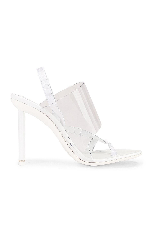 Image 6 of Alexander Wang Kaia PVC Heel in White