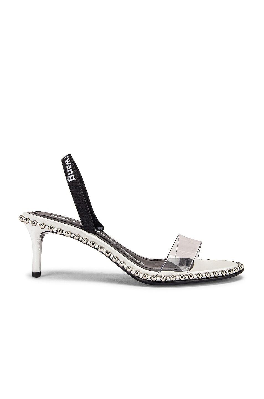 Image 1 of Alexander Wang Nova Low PVC Heel in White