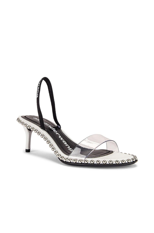 Image 2 of Alexander Wang Nova Low PVC Heel in White
