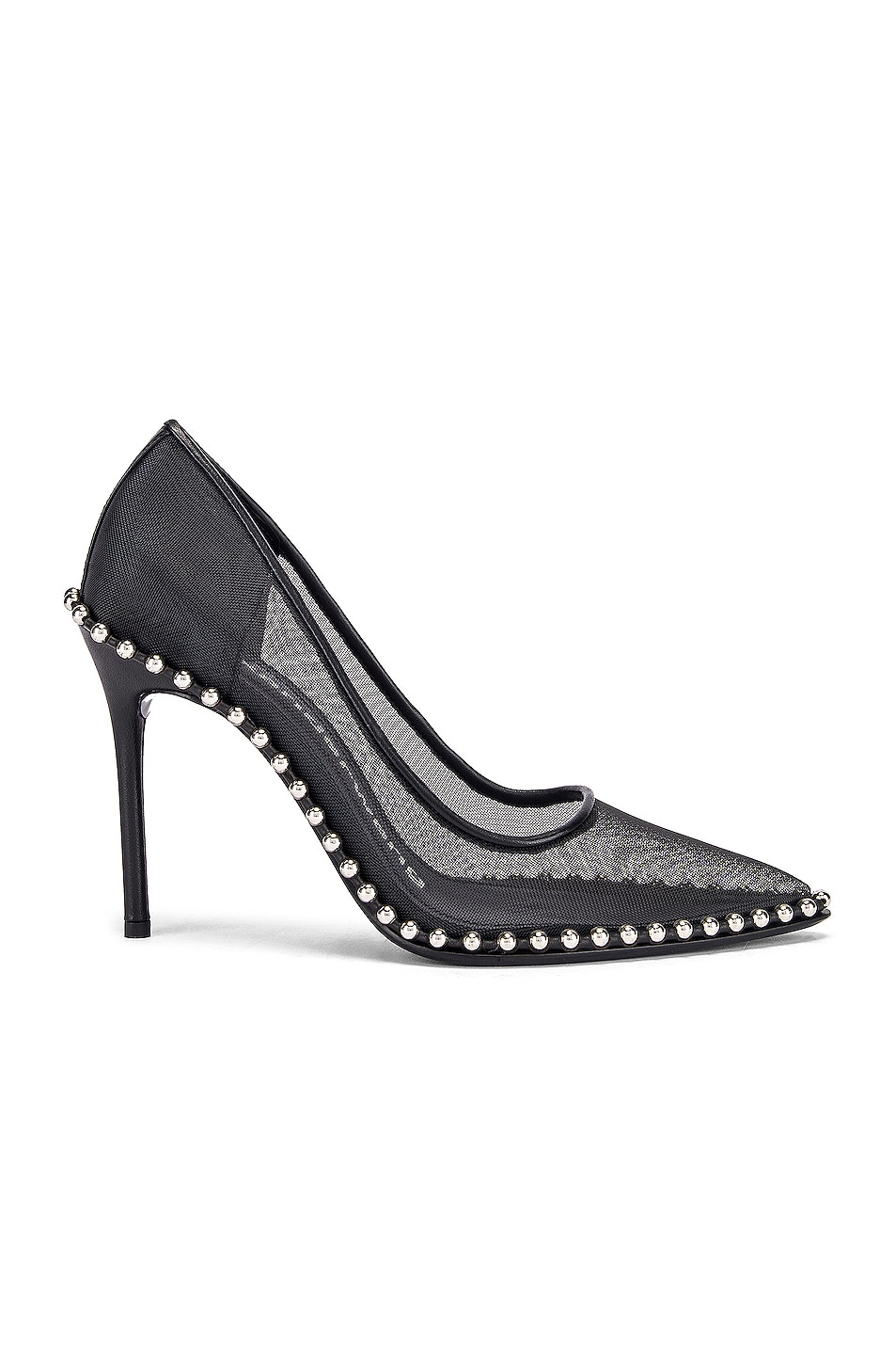 Image 1 of Alexander Wang Rie Mesh Heel in Black