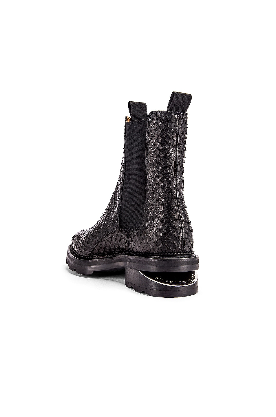 Image 3 of Alexander Wang Andy Anaconda Boot in Black