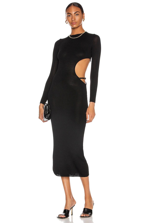 Image 1 of Aya Muse Gigi Dress in Black