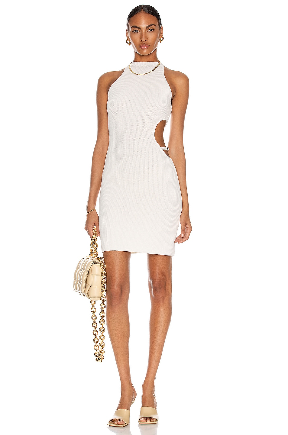 Image 1 of Aya Muse Mila Dress in White