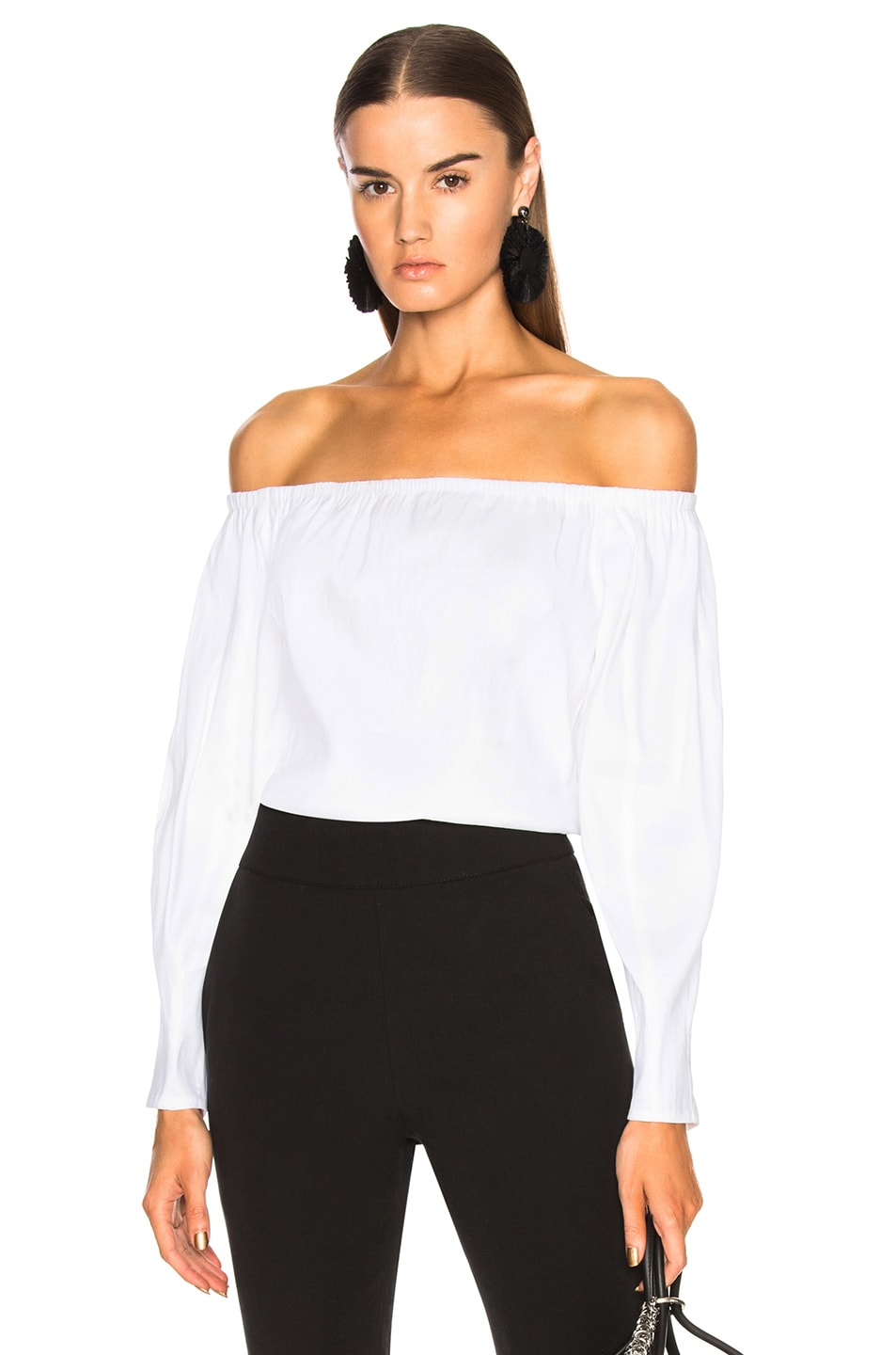 Beaufille Falcon Blouse in White