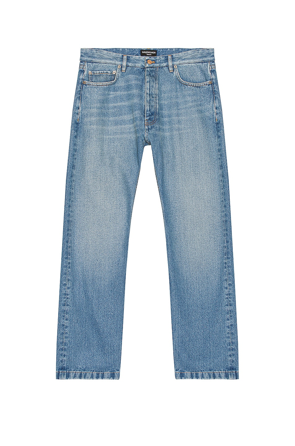 Image 1 of Balenciaga Normal Jeans in Medium Blue